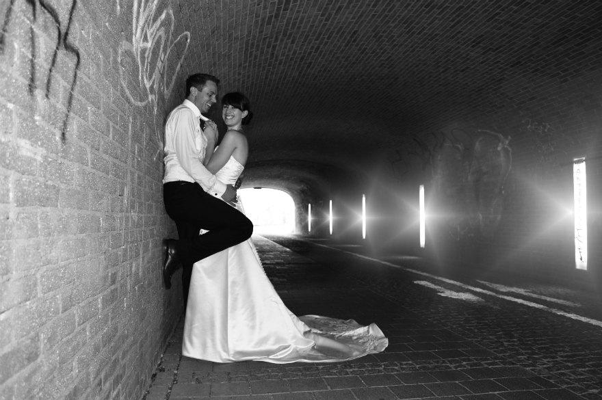 ... Liebe im Tunnel...