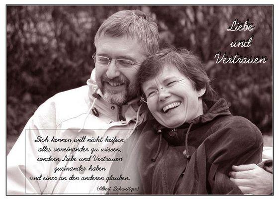 Liebe und Vertrauen...