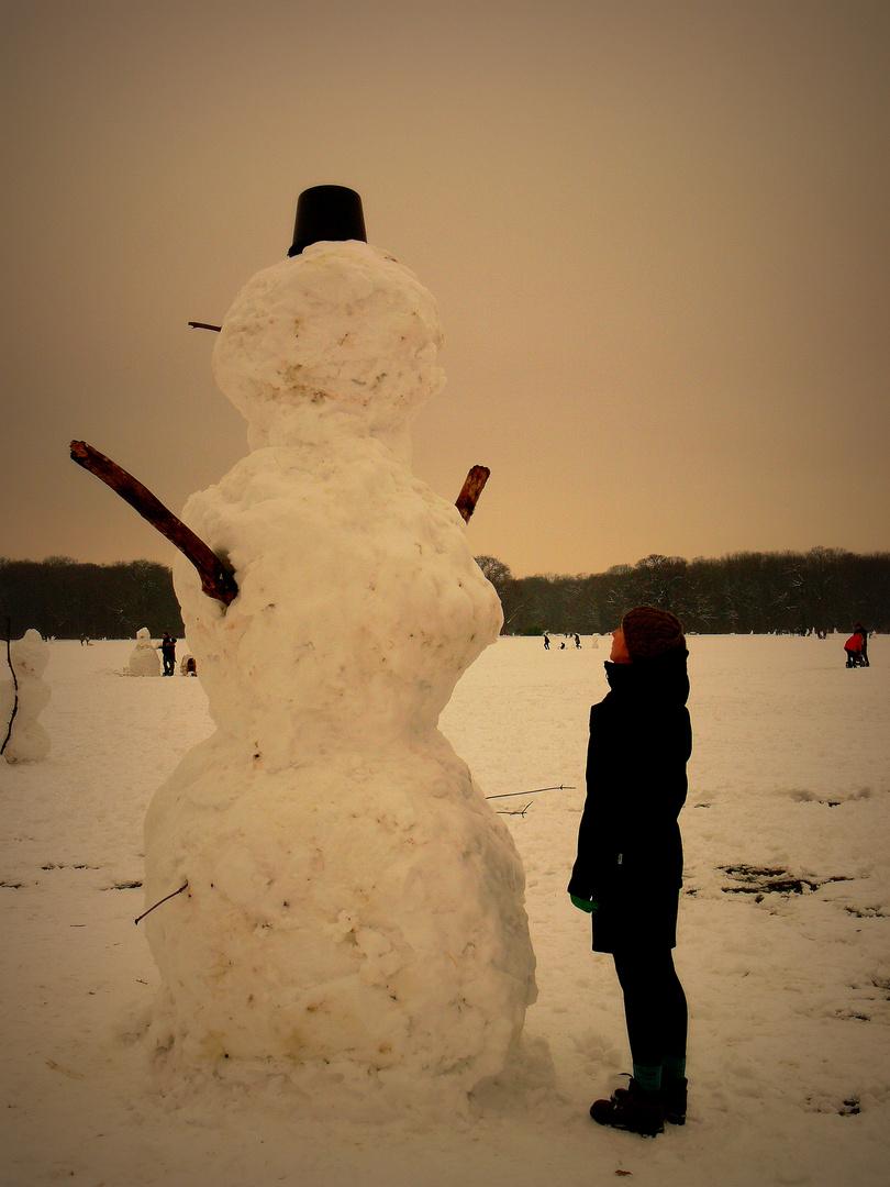 Lieber guter Schneemann ...