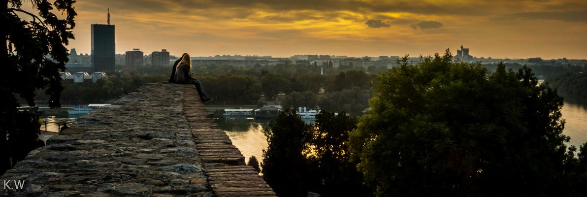 Liebespaar aus Belgrad