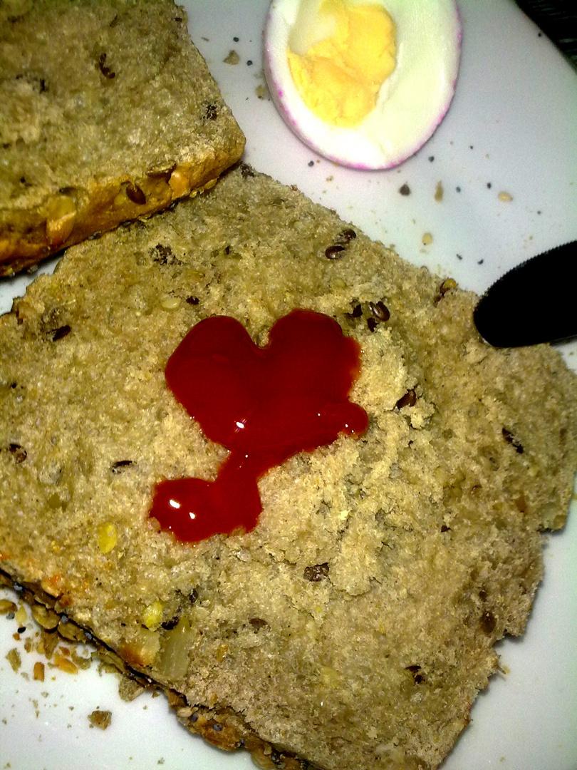 Liebevolles Frühstück :))