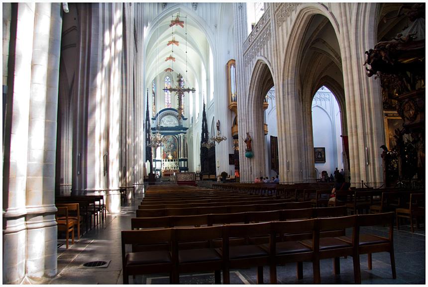 Liebfrauenkathedrale (Antwerpen) von innen