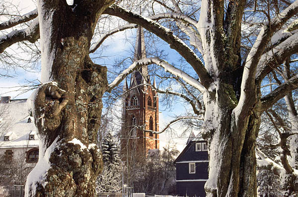 Liebfrauenkirche im Winter