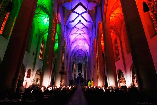 Liebfrauenmünster Ingolstadt - Orgel & Licht VIIII