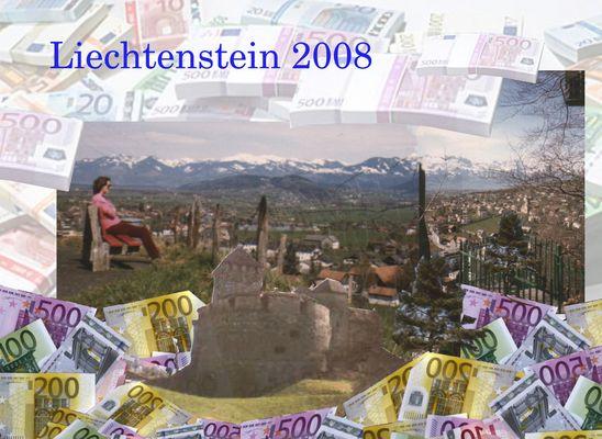 """Liechtenstein 2008 (...ein Liedbild von """"Hannes vonne Halde"""")"""