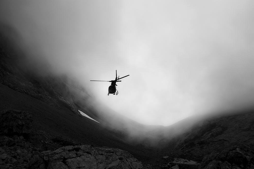 Lieferung auf 2120 m
