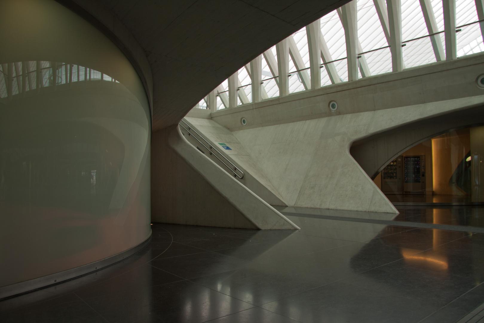 Liège,  gare calatrava