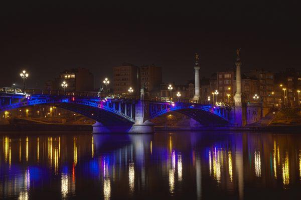 Liège le pont de Fragnée