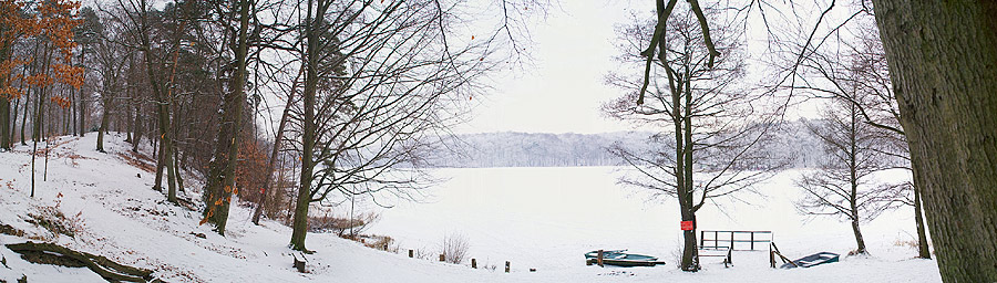 Liepnitz-See im Januar
