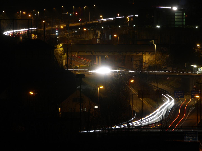 Liestal bei Nacht
