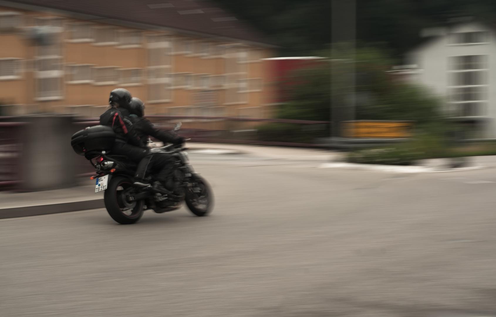 Life at 50mm - pair biking