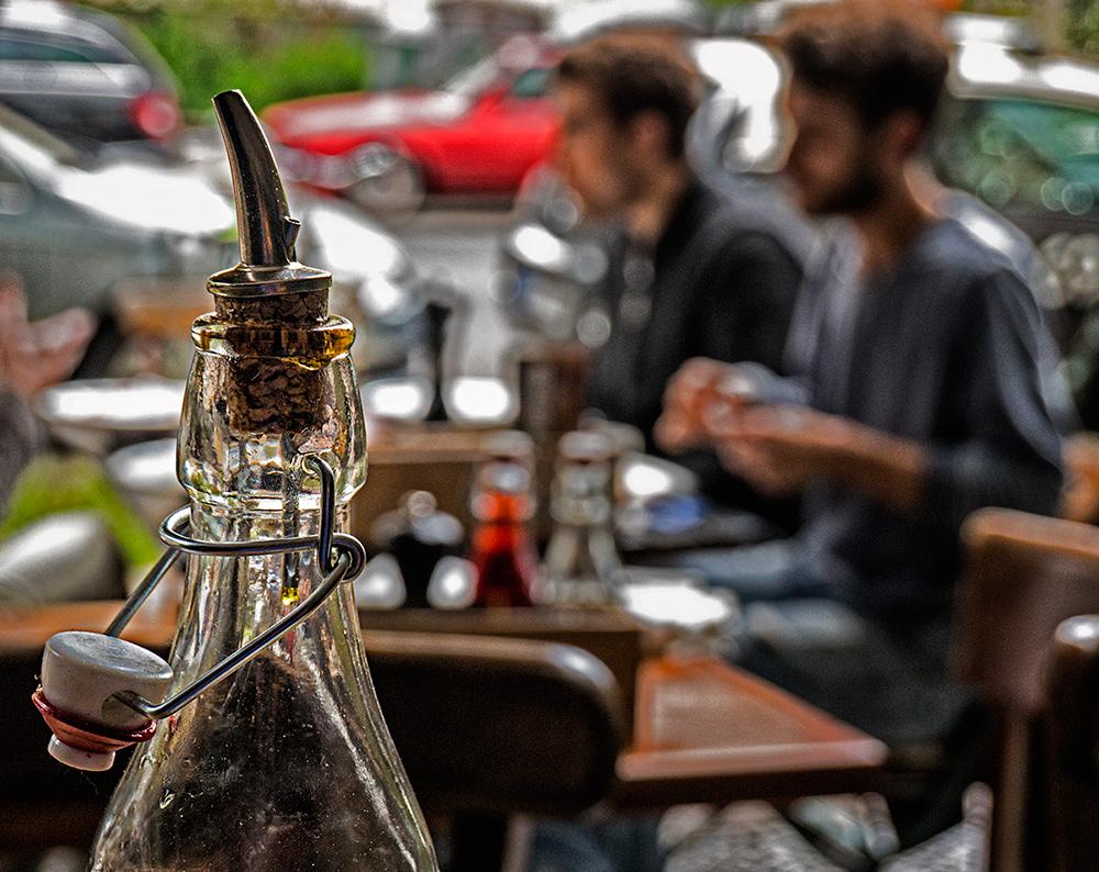 life behind a bottle of olive oil