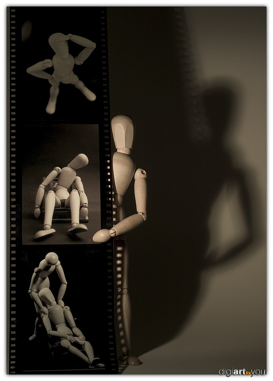 life in a filmstrip von Frank Socha
