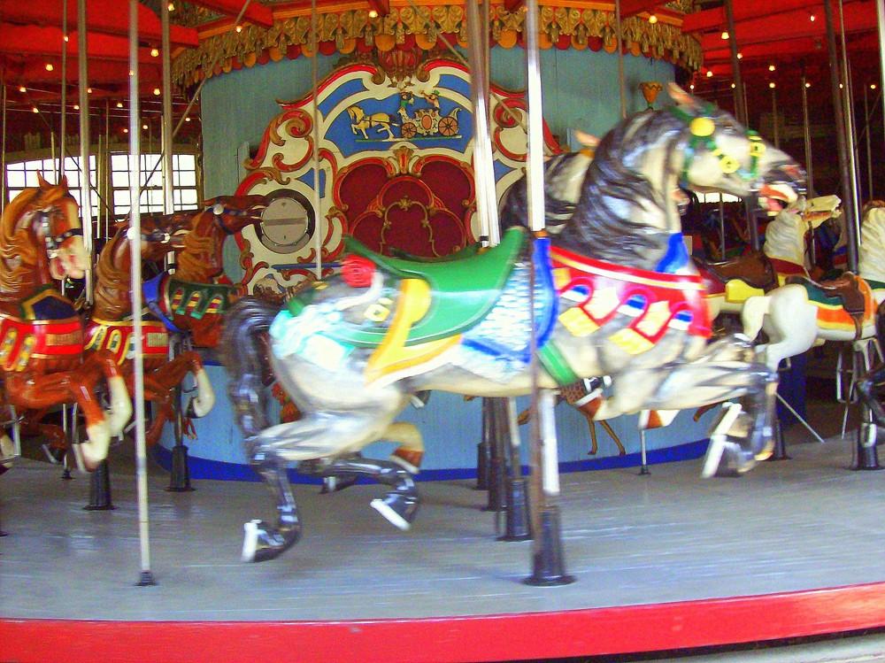 life is like a carrousel.