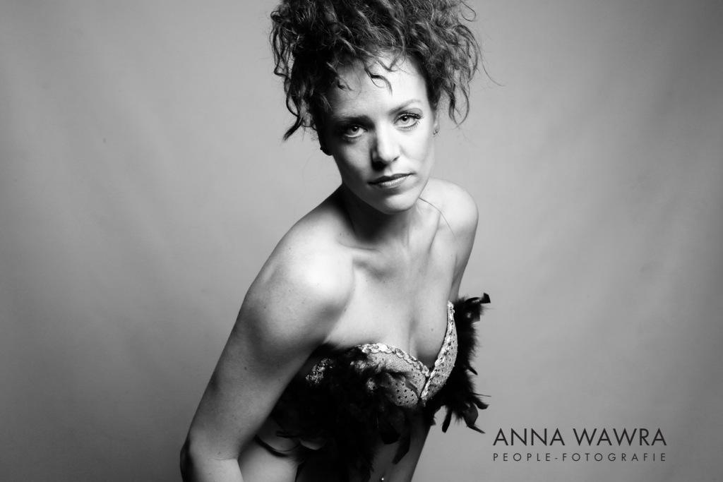 Lifestyle Portrait in Schwarz-Weiß