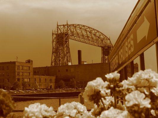 Liftbridge in Duluth Mn USA.