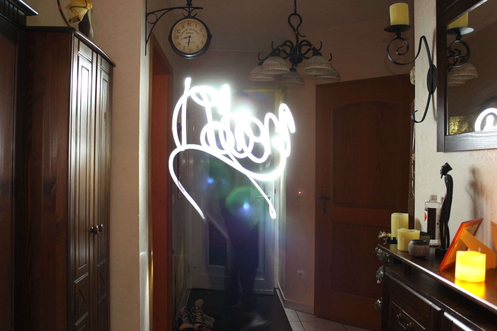 "Light Graffiti ""Robert"""