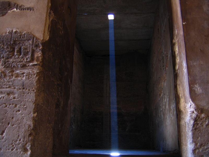 Light in Karnak
