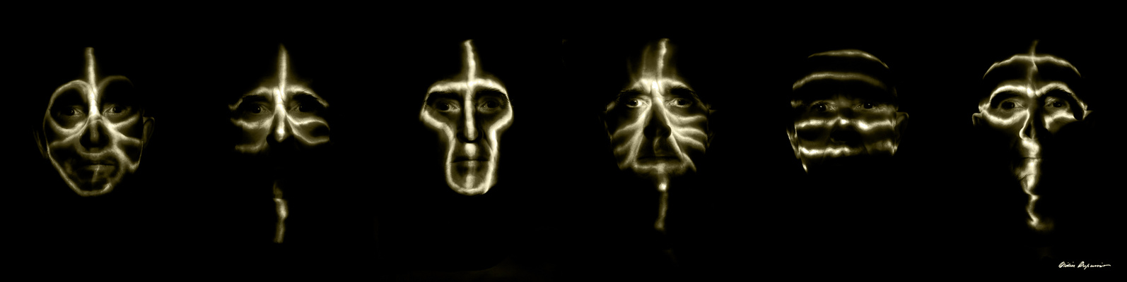 Light Painting Faces