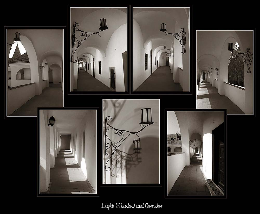 Light, Shadow and Corridors