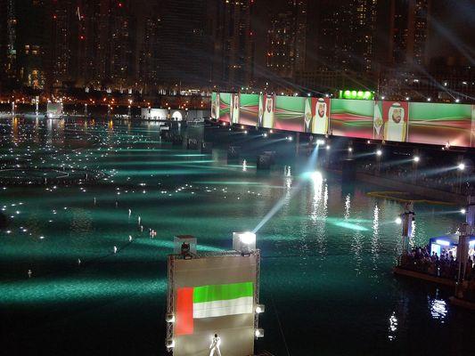 Light Show Burj Khalifa a Jan 2013