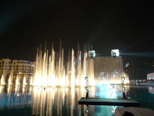 Light Show Dubai Mall Jan 2013