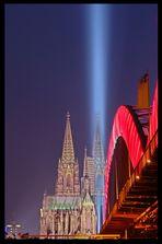 Lightbeaming on Bridge