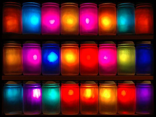 Lighted Jars