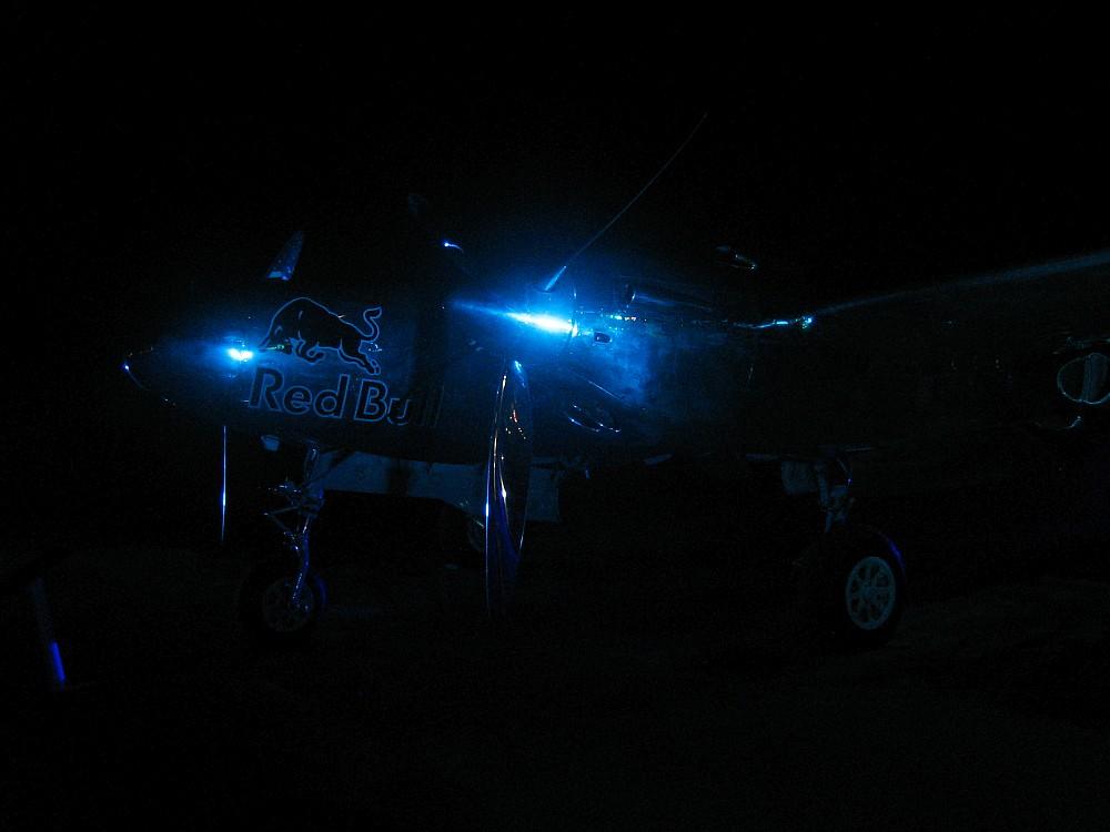 Lightening im Nightlight