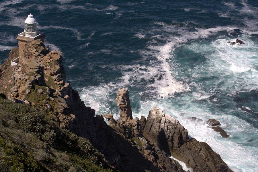 """Lighthouse at """"Diaz Point"""", Cape Point, South Africa"""