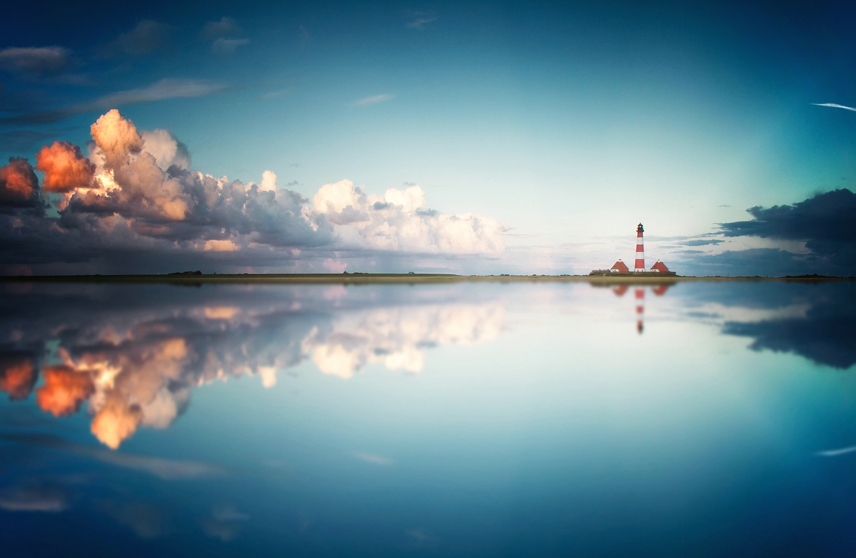 Lighthouse & Clouds
