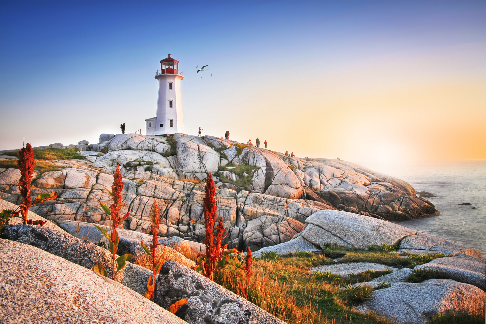Lighthouse in Peggys Cove