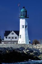 Lighthouse in Scituate, Massachusets