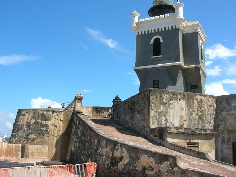 Lighthouse in the Fuerte el Morro