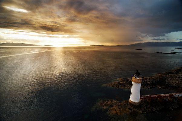 Lighthouse on Skye island