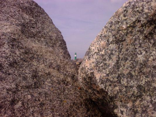 Lighthouse on the rocks I