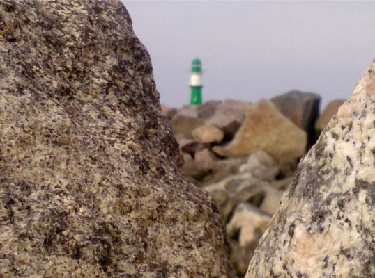 lighthouse on the rocks II