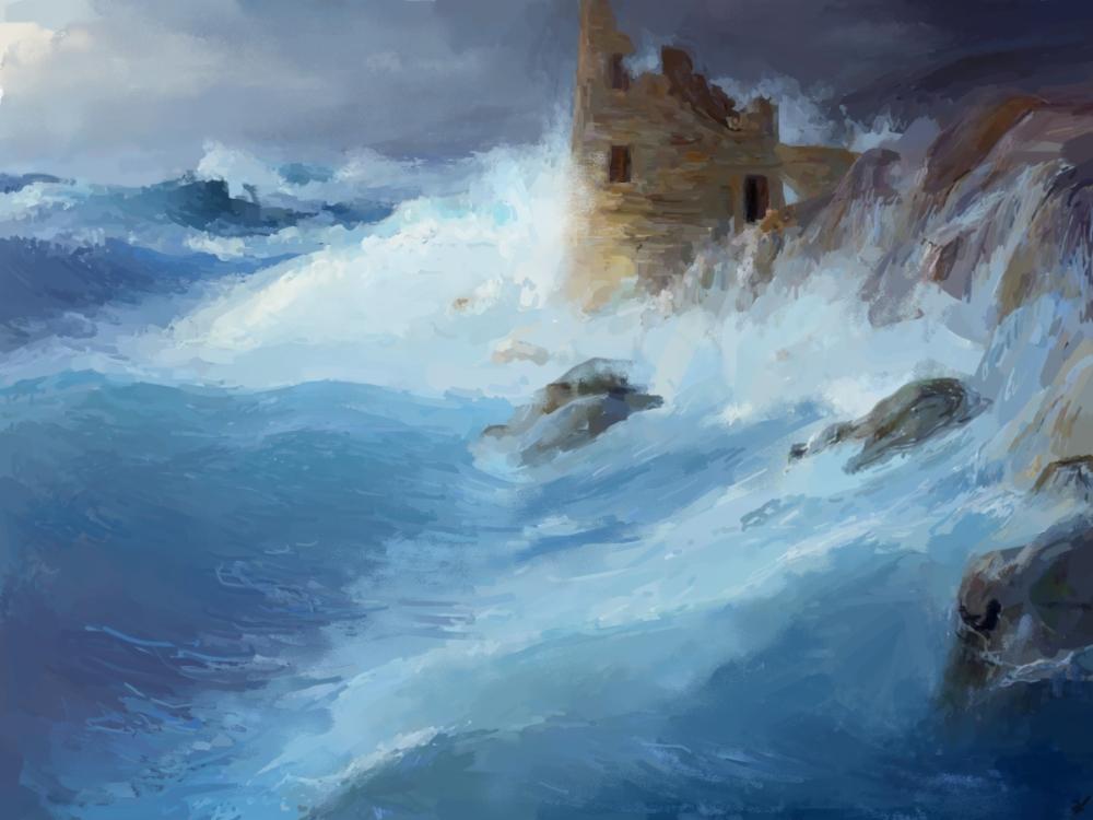 Lighthouse ruin