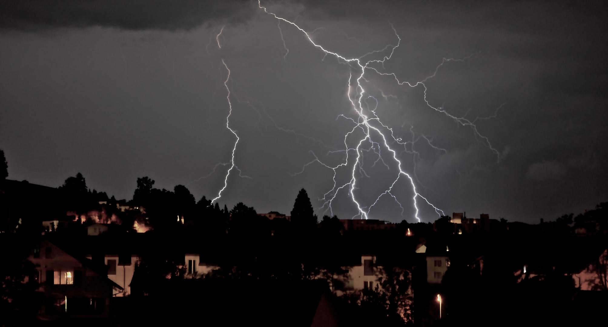 lightning from heaven