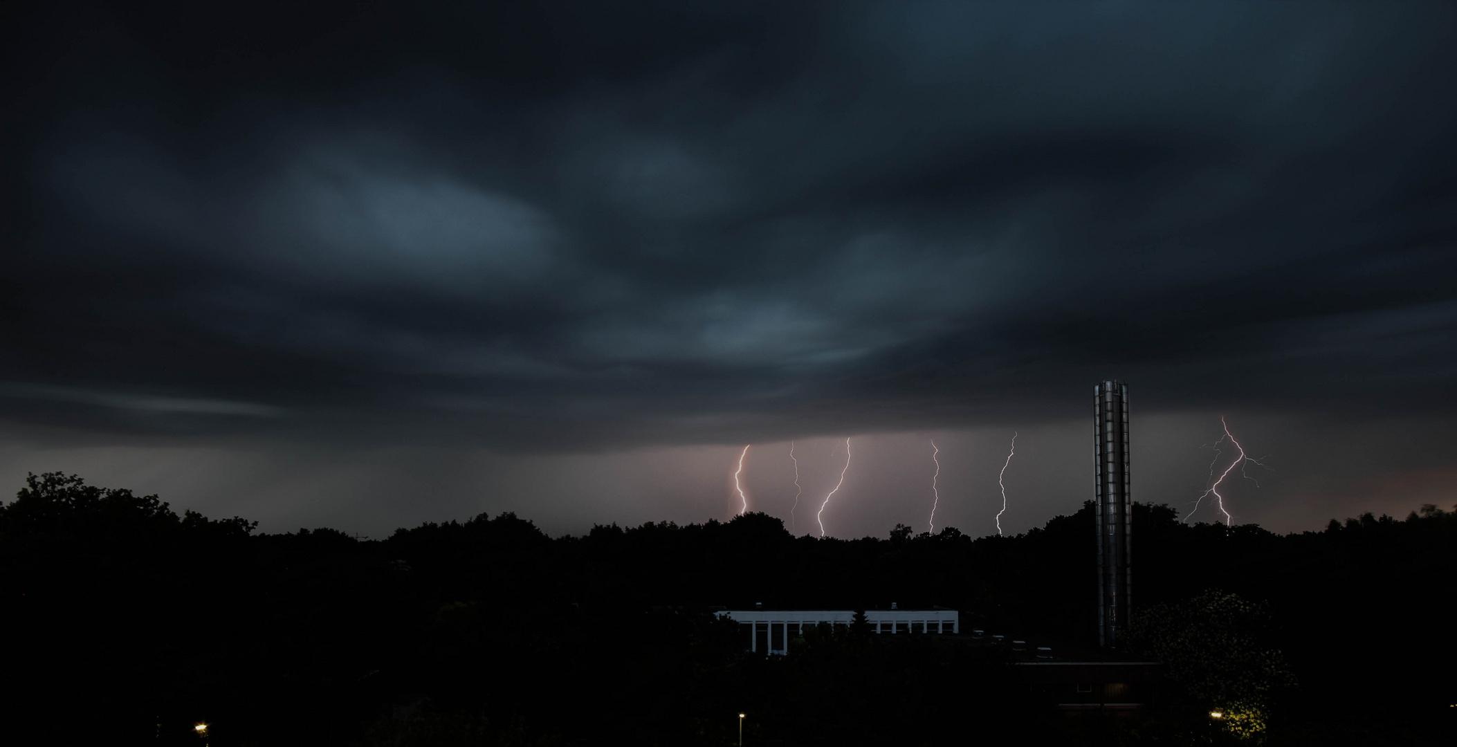 Lightning in Berlin