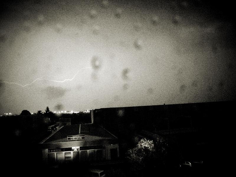 Lightning in Verona.