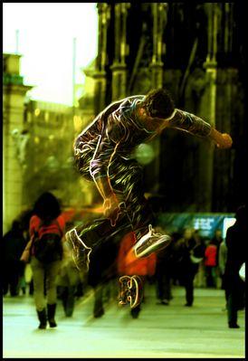lightning skater