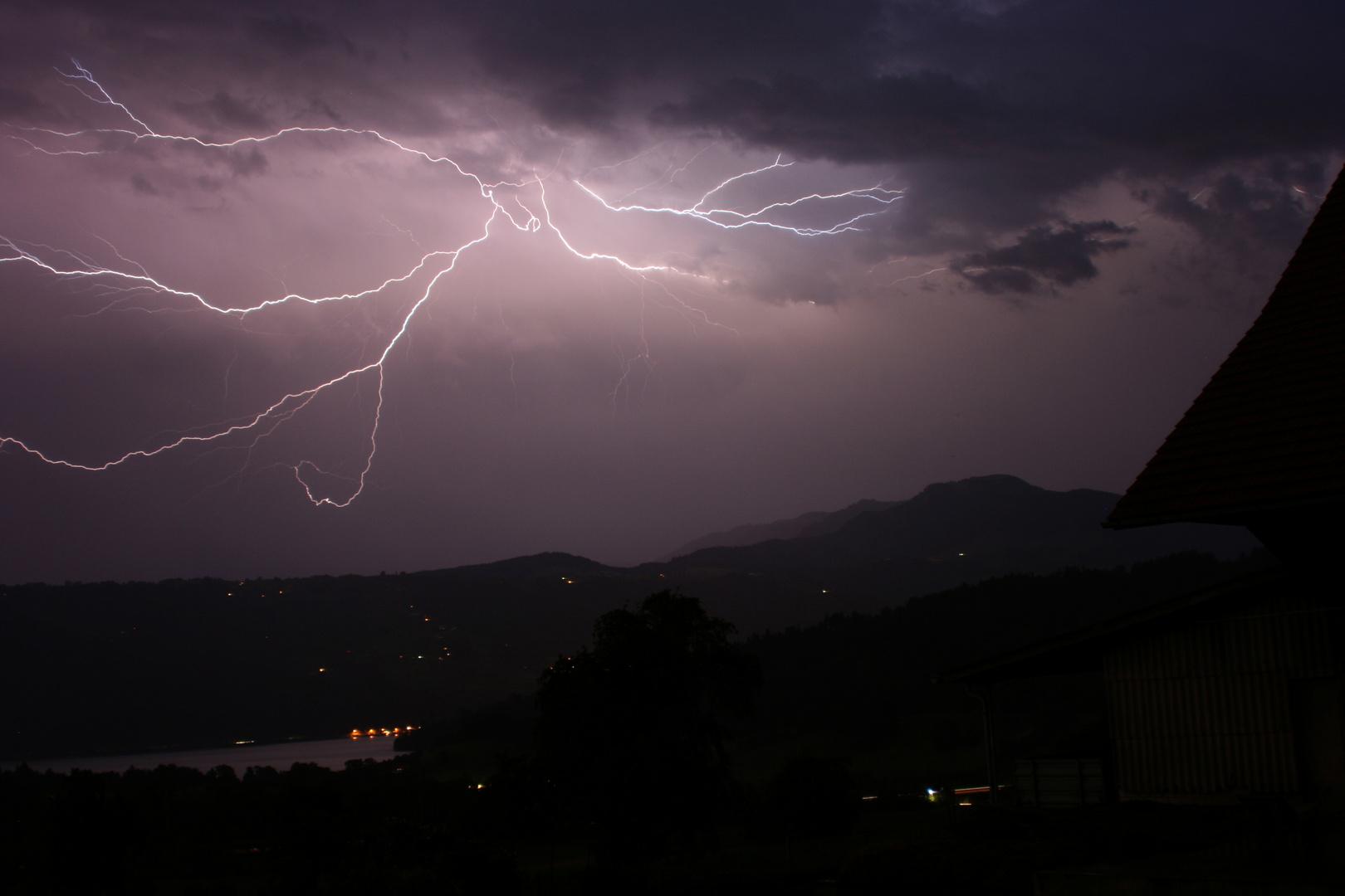 Lightning & Thunder - Zuger See (Schweiz)