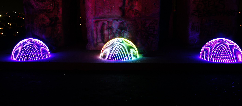 Lightpainting DOME