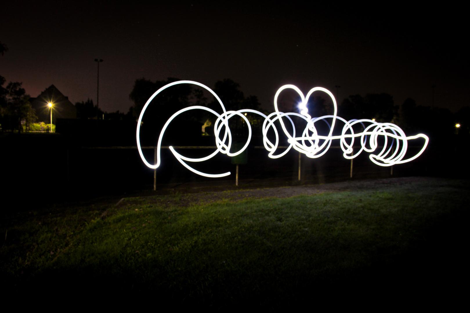 Lightpainting - ein Versuch