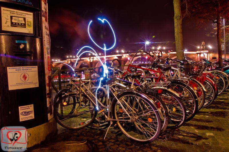 Lightpainting in Heidelberg