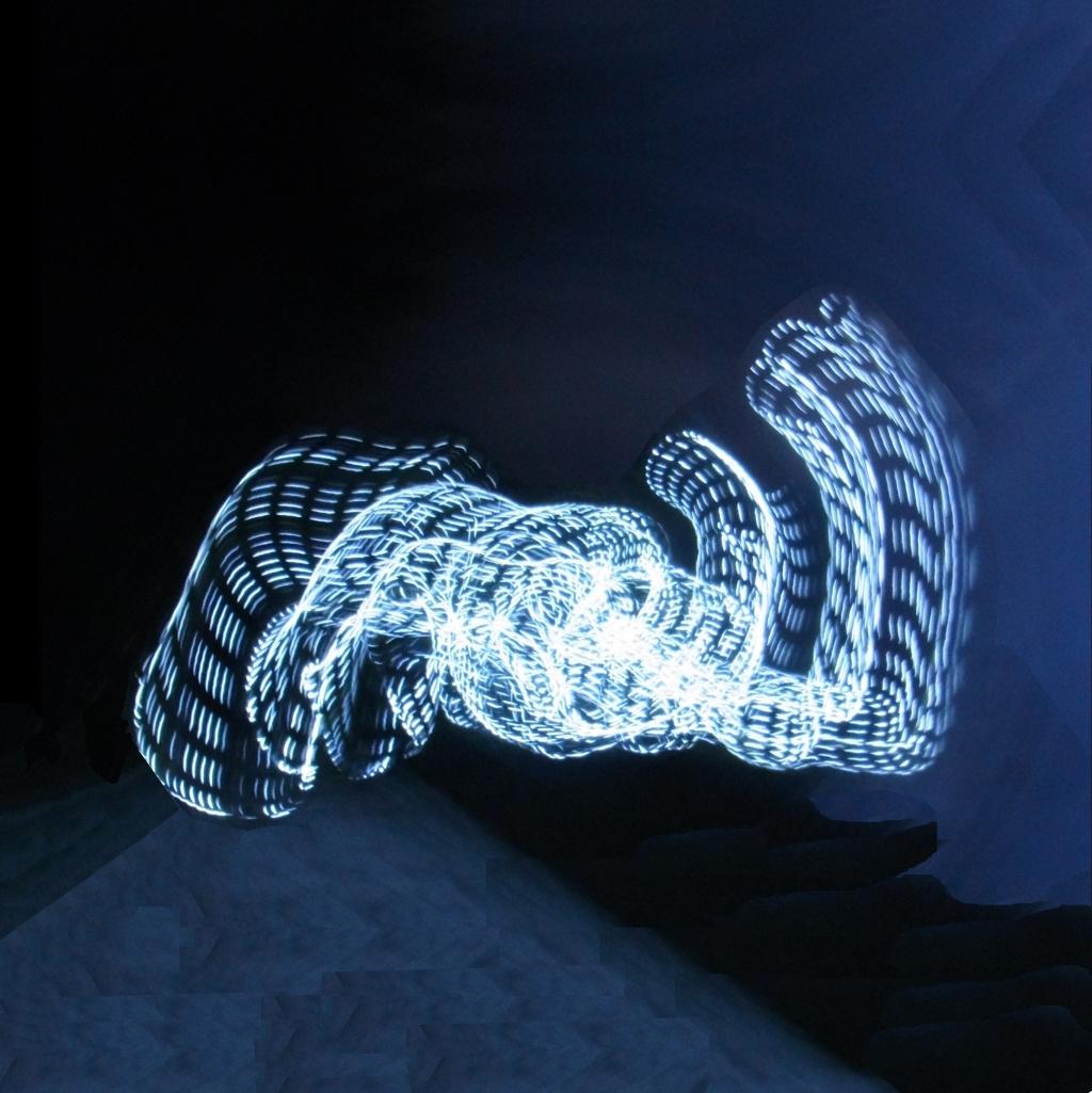 Lightpainting- TARANTULA