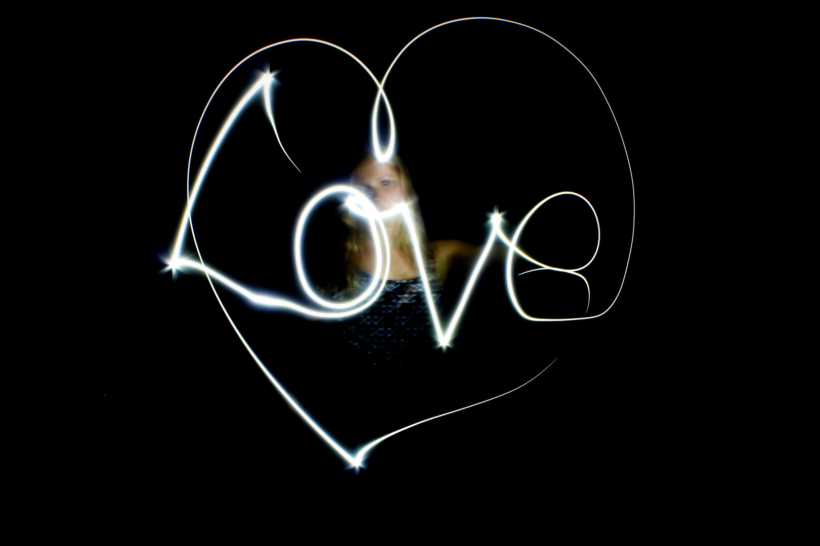 Lightpainting:Love