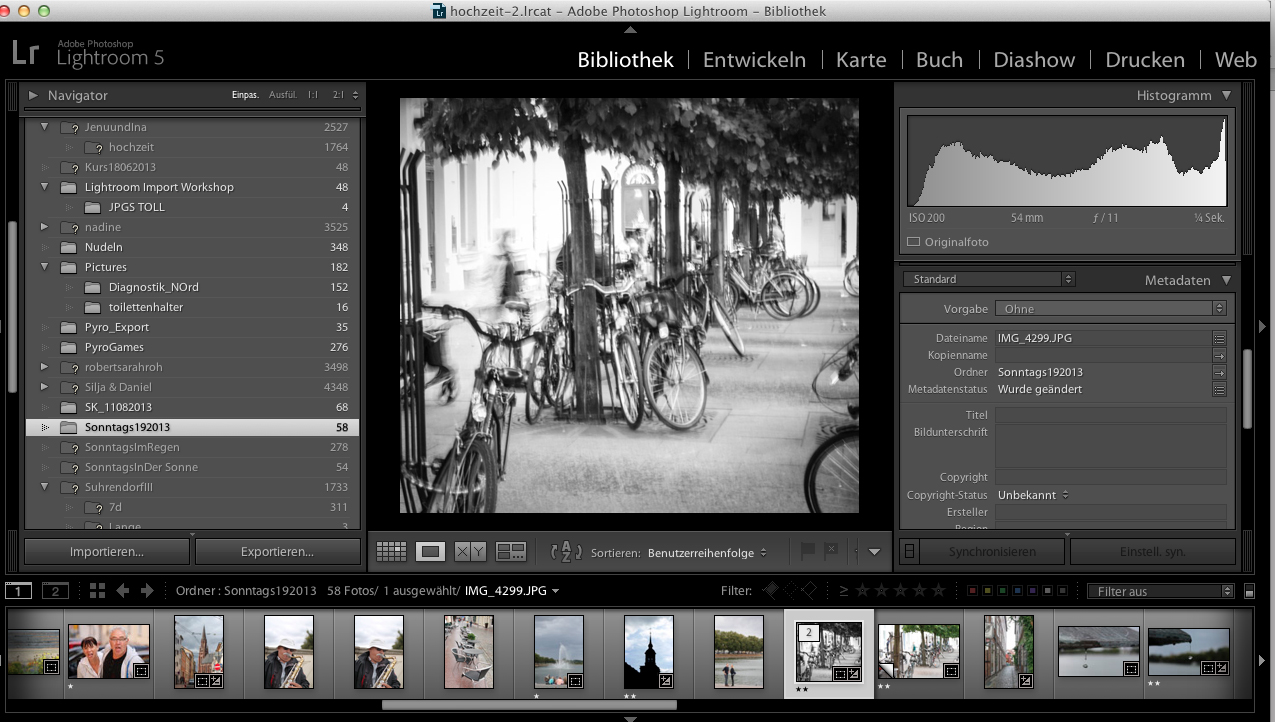 Lightroom Bildbearbeitung Workshop