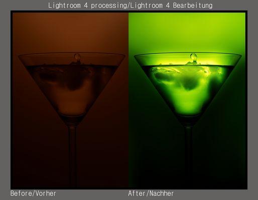 Lightroom Workshop (Cocktail Glass)
